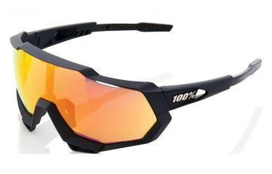100% S3 Speedtrap, Soft Tact Black, HD Multilayer Mirror Lense / Hiper Lens