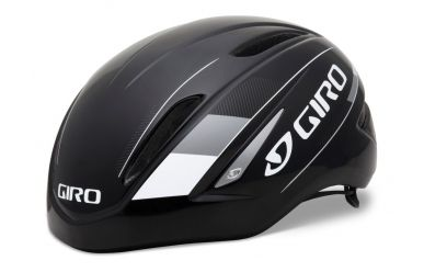 Giro Air Attack Aero Road Helm  Black Silver S 51-55cm