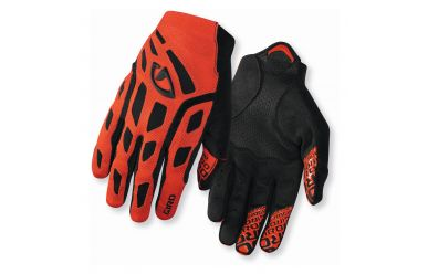 Giro Rivet Handschuhe 14M glowing red/bk M