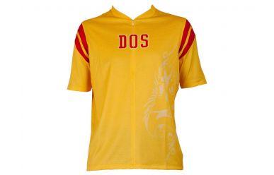 Dos Caballos LUZ men bike shirt, K/A, M, gelb