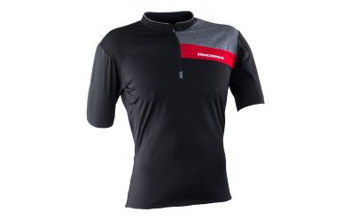 Race Face Podium kurzarm Trikot Black Red