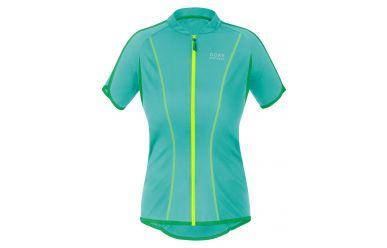 Gore COUNTDOWN 3.0 Full-Zip LADY Trikot, turquoise/fresh green,36