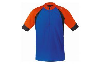 Gore FUSION 2.0 Trikot, brilliant blue/blaze orange,M