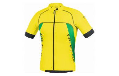 Gore ALP-X Pro Trikot leichtes atmungsaktives Material Cadmium Yellow Fresh Green