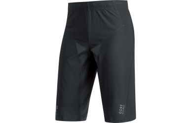 Gore ALP-X PRO Windstopper Soft Shell Shorts, black