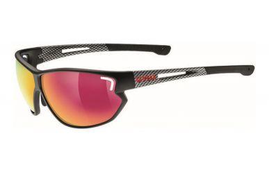 Uvex sportstyle 810 Brille, black mat carbon