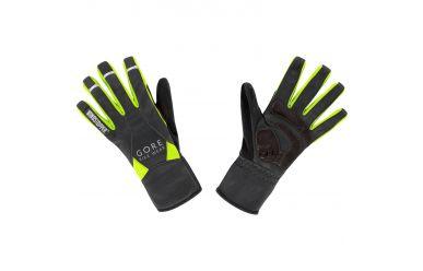 Gore UNIVERSAL WINDSTOPPER® Mid Handschuhe, black/neon yellow,11