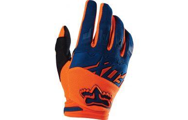 Fox Racing Dirtpaw Race Handschuh Orange/Blue S