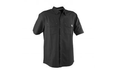 Race Face Shirt Hemd kurzarm mit kleinem Race Face Logo schwarz