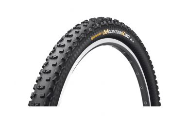 Continental Mountain King II RaceSport, Black Chili Compound Faltreifen Schwarz 27,5x2,40 (60-584)
