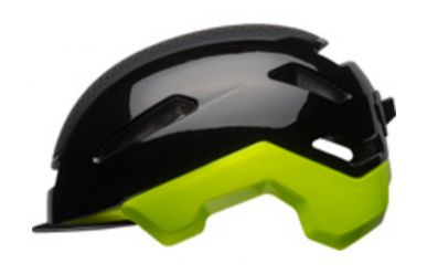 Bell Hub Fahrradhelm Black / Retina Sear