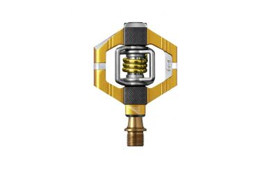 CrankBrothers Candy 11 Pedale inkl. Premium Cleats, Gold