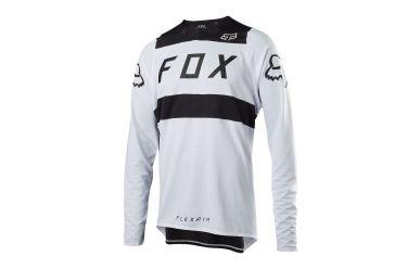Fox Racing FLEXAIR JERSEY White Black, Men, M