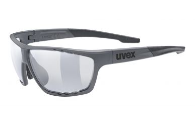 Uvex sportstyle 706 v Brille, black/ smoke