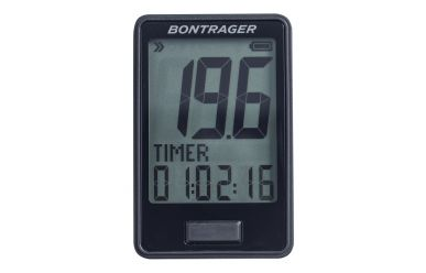 Bontrager RIDEtime Cycling Computer Black