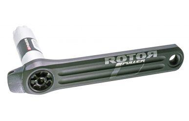 Rotor INpower Road Leistungsmesskurbel Directmount Matt Schwarz
