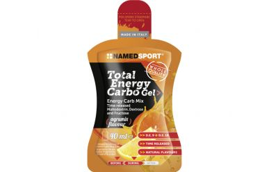 Named Total Energy Carbo Gel 40ml Zitrus