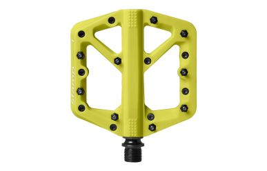 CrankBrothers Stamp 1 Flatpedal Citron Small