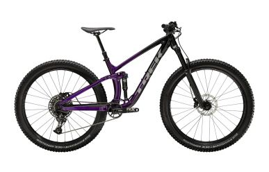 "Trek Fuel EX 7 Sram NX Eagle Trek Black Purple Lotus 18,5"" ML"