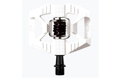CrankBrothers Double Shot 1 Klick/Plattformpedal Limited Edition White Black