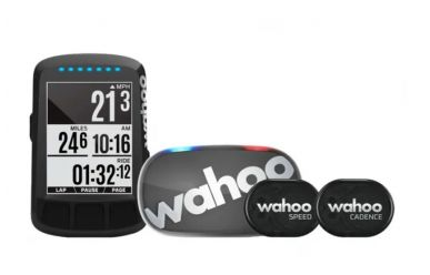 Wahoo Elemnt Bolt stealth GPS Bundle inkl. TickR, Cadence und Speedsensor