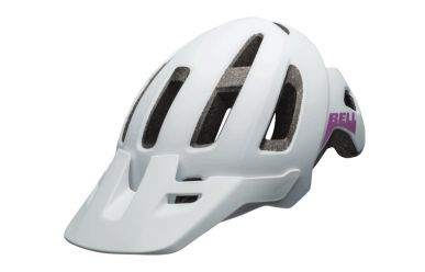 Bell Nomad Jr matte white/purple UY