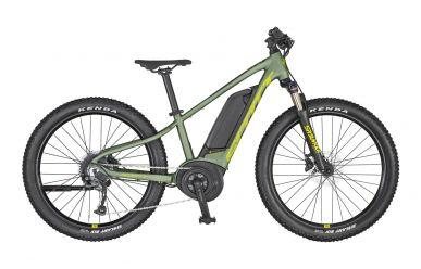 Scott Roxter eRIDE 24 Dark Ivy Green Radium Yellow Black