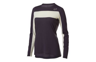 Fox Racing RANGER DR LS Langarm JERSERY Women Dark Purple