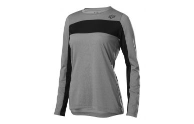 Fox Racing RANGER DR LS Langarm JERSERY Women Pewter