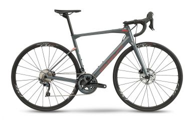 BMC Roadmachine THREE Shimano Ultegra Race Grey Neon Red