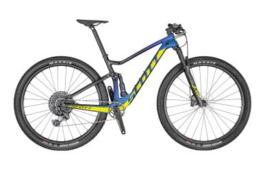 Scott Spark RC 900 Team Issue AXS Prism Purple Yellow