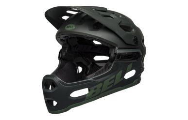 Bell Super 3R Mips Fullface Helm Matte Green