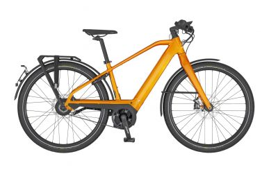 Scott Silence eRIDE Evo Tangarine Orange Black