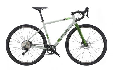 Wilier Jaroon Stahlrahmen Gravel Bike Shimano GRX 1x11 Spring Grey