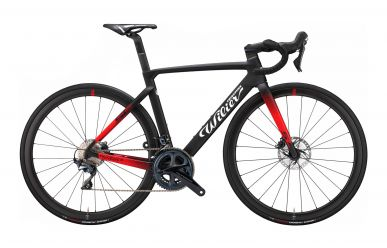 Wilier Cento10 SL Disc Shimano Ultegra, Wilier Carbon NDR38 Wheels, Black Red