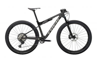 Trek Supercaliber 9.8 XT Matte Raw Carbon Gloss Trek Black