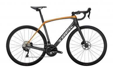 Trek Domane SL 5 Disc Shimano 105 Lithium Grey Factory Orange