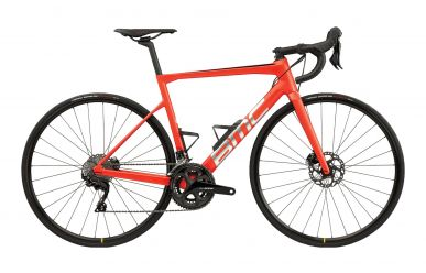 BMC Teammachine SLR FOUR Shimano 105 Racing Red Brushed Silver