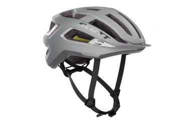 Scott Arx Plus Helm Vogue Silver Reflective Grey