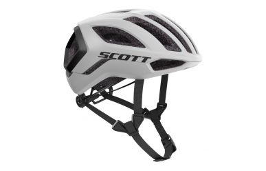 Scott Centric Plus Helm White Black