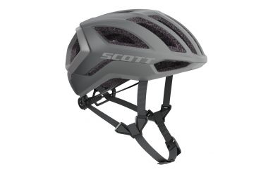 Scott Centric Plus Helm Vogue Silver Reflective Grey