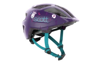 Scott Spunto Kid Helm Deep Purple Blue
