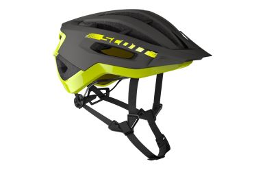 Scott Fuga Plus rev Helm Dark Grey Radium Yellow