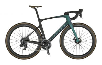 Scott Foil 10 Carbon Black Prism Green