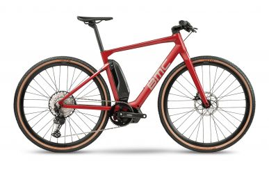 BMC Alpenchallenge AMP CROSS ONE Shimano Deore 1x12 E6100 Ruby Red Silver