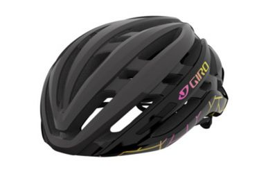 Giro Agilis Helm MIPS Women Black Craze Red