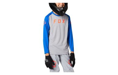 Fox Racing DEFEND LS Jersey Youth Steel Grey
