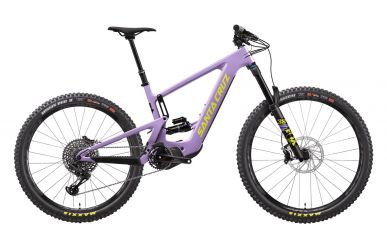 Santa Cruz Bullit 3 CC S-Kit EMTB Shimano EP8 630WH Gloss Lavender Yellow