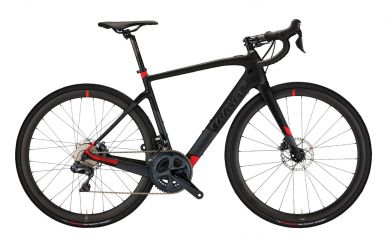 Wilier Cento1 Hybrid Shimano Ultegra, Wilier Air38 Wheels, Black Red Matt