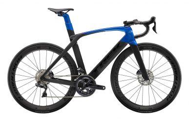 Trek Madone SL7 Disc Shimano Ultegra Di2 Matte Black Gloss Alpine Blue